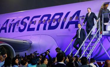 Air Serbia İlk Uçuş