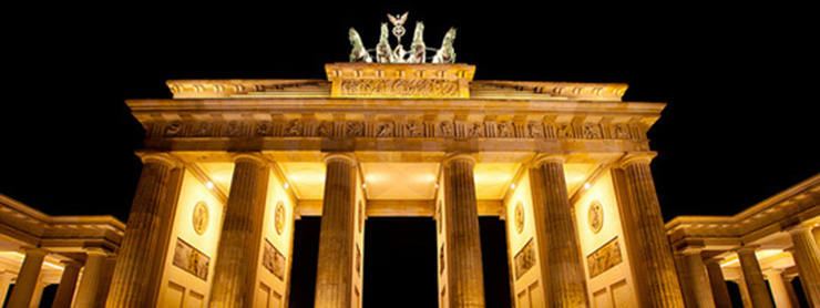 Berlin Branderburg Kapısı, Almanya