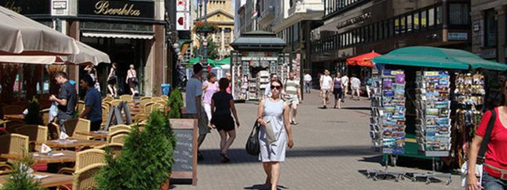 Budapeştede Alışveriş