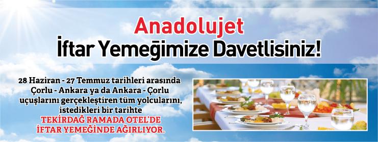 AnadoluJet Ramazan Uçak Bileti Kampanyası