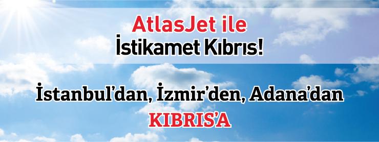 Atlasjet Kıbrıs uçak bileti kampanya