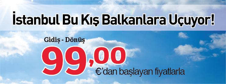 THY Balkanlar uçak bileti kampanyası