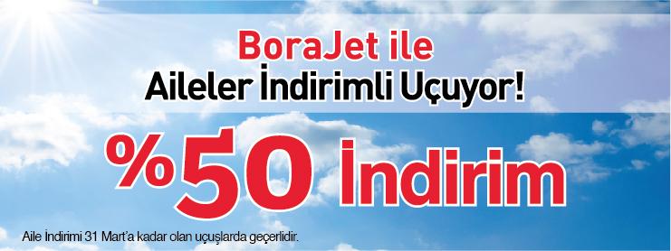 Borajet engelli ve polislere yurtiçi uçak bileti kampanyası