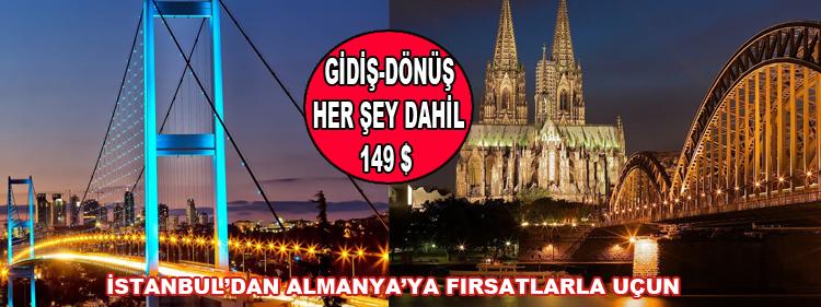 İstanbul'dan Almanya'ya Fırsatlarla Uçun