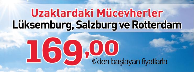 THY salzburg lüksemburg rotterdam kampanyası