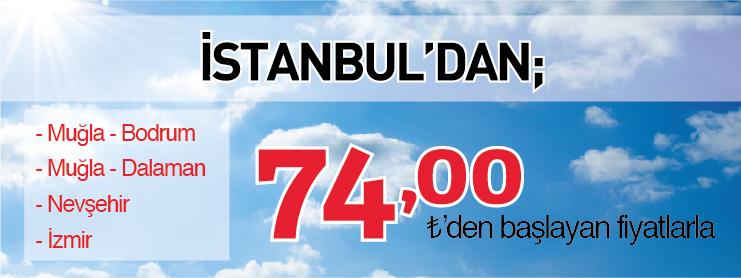 THY Muğla Nevşehir İzmir Uçak Bileti Kampanyası