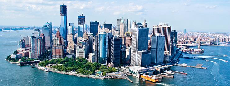 New York City gökyüzü manzarası