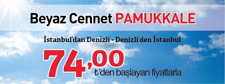 THY Pamukkale uçak bileti kampanyası