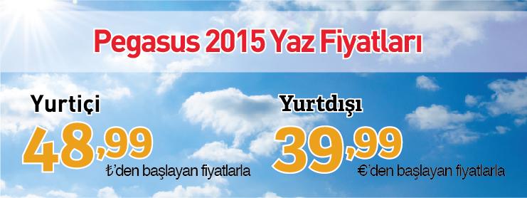 Pegasus yurtiçi yurtdışı uçak bileti kampanyası