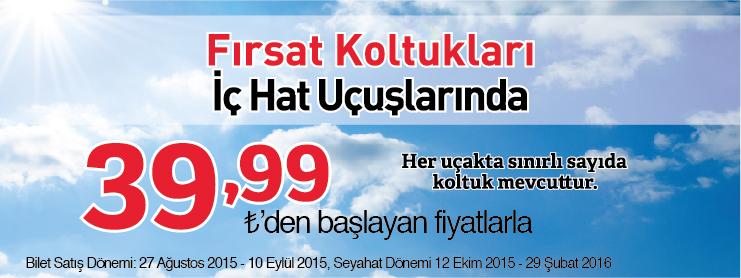 Sunexpressten indirimli uçak bileti kampanyası