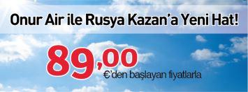 Onurair Ile Her Gun Antalya Kazan 89 Euro