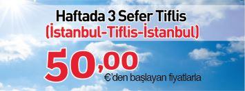 Atlasjet İstanbul Tiflis uçak bileti kampanya