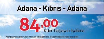 Borajet Adana Kıbrıs uçak bileti kampanyası