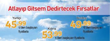 Pegasus yurtiçi yurtdışı kıbrıs uçak bileti kampanyası