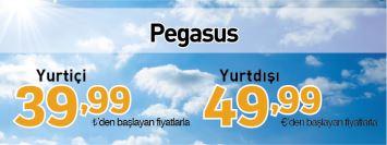 Pegasus yurtiçi yurtdışı yeni yıl uçak bileti kampanyası
