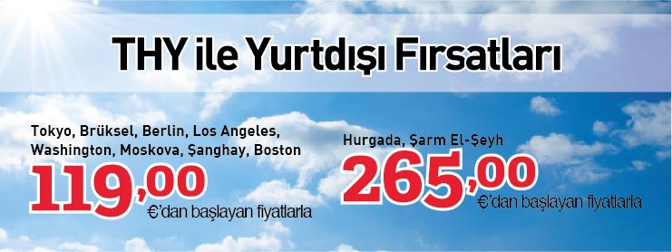 THY yurtdışı uçak bileti kampanyası