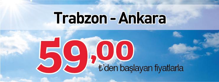 Borajet Ankara Trabzon uçak bileti kampanyası