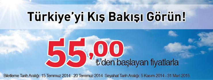 THY Yurtiçi Uçak Bileti  Kampanyası
