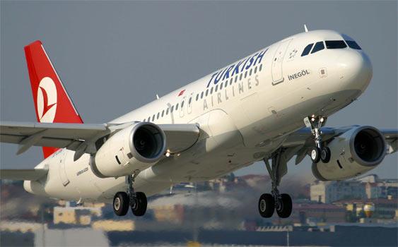 Türk Hava Yolları Uçağı