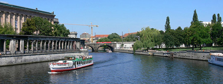 Berlin Spree Nehri, Almanya