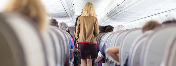 Uçakta Yolcular
