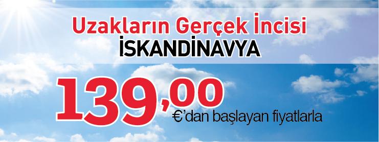 THY İskandinavya uçak bileti kampanyası