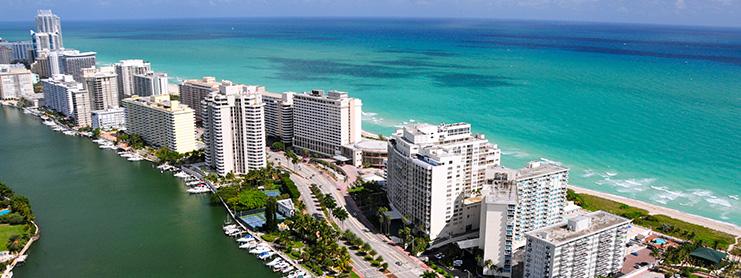 Miami manzarası