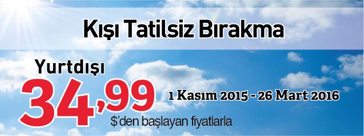 Pegasus yurtdışı uçak bileti kampanyası