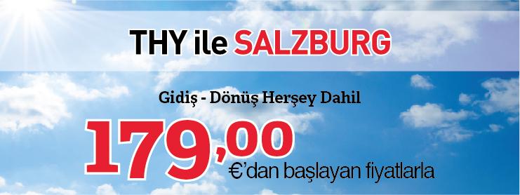 THY İstanbul-Salzburg uçak bileti kampanyası