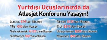 Atlasjet yurtdışı uçak bileti kampanyası