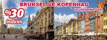 Pegasus'tan Brüksel ve Kopenhag İndirimi