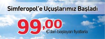Atlasjet Simferepol uçak bileti kampanya