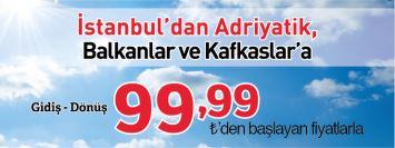 THY adriyatik uçak bileti kampanyası