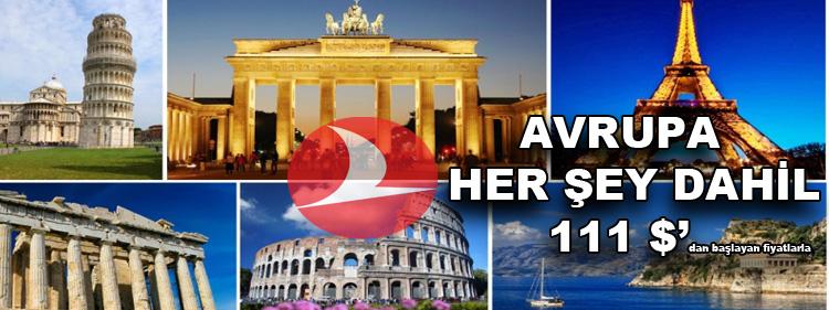 Türk Hava Yolları İle Haydi Avrupa'ya