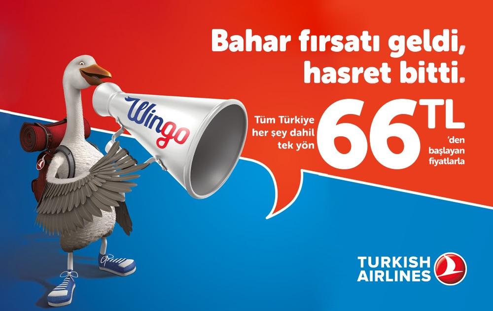 Türk Hava Yolları Bahar Fırsatı