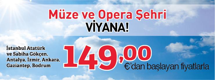 THY Viyana uçak bileti kampanyası